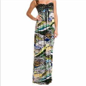 BCBG Cybele maxi dress medium